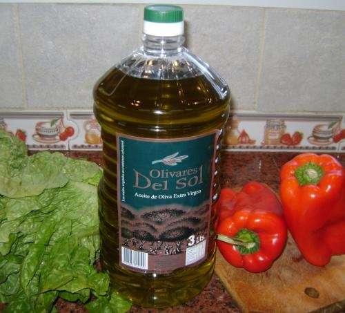 "Aceite de oliva extra virgen ""olivares del sol"" x 3 litros"