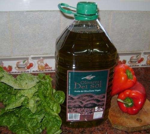 "Aceite de oliva extra virgen ""olivares del sol"" x 5 litros"