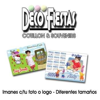 Tarjetas, globos, cajas de madera, mini atriles,calendario c/ iman