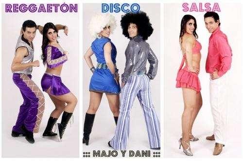 Show de salsa, majo y dani, show de pareja de baile salsa, latino, animación, juegos