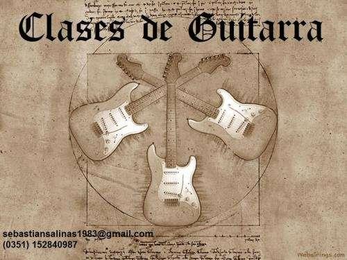 Me ofrezco- guitarrista - clases de guitarra