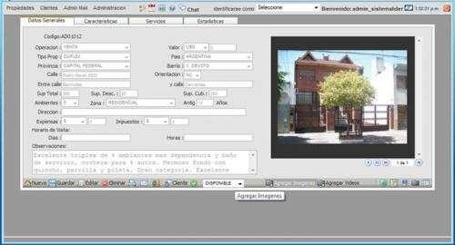 Fotos de Sitio web para inmobiliarias + panel de administración y carga de propiedades! 3