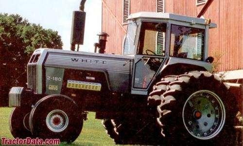 Tractor white
