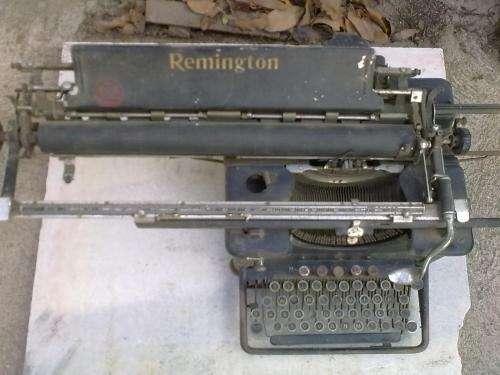 Maquina escribir remintong antigua $1000