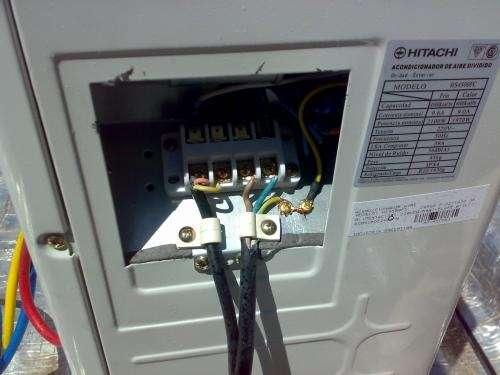 Instalador aire acondicionado.