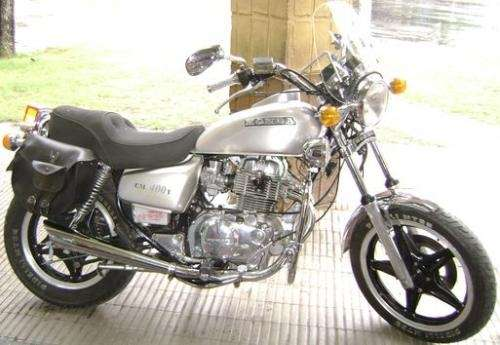 Fotos de Sport moto: honda cm 400 t 1981 japonesa unica accesorios 1