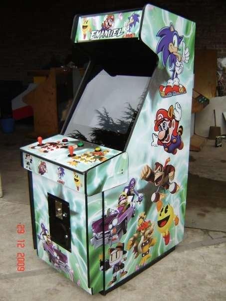 Video juegos arcade mame multijuegos restaurados, flippers, fichines
