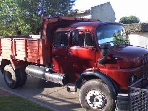 Vendo camion 1114 md 1989 volcador