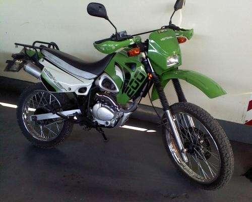 Vendo moto dakar 200 '07