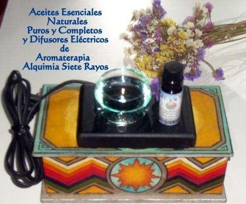 Aromaterapia kit: difusor eléctrico + aceites esenciales