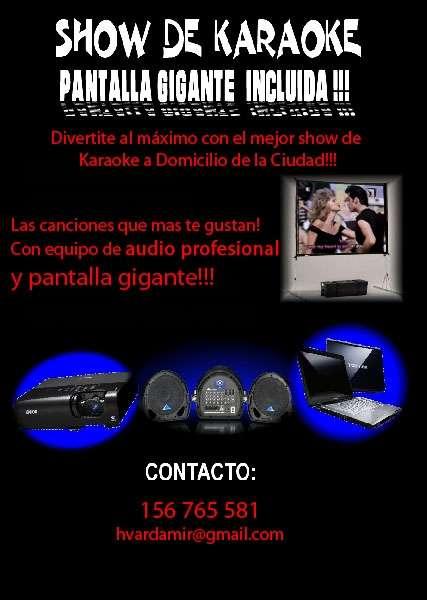 Karaoke a domicilio $450 oferta diciembre!!!!