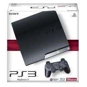 Playstation 3 120 gb slim + blu ray + wi fi + bluetooth !!!!