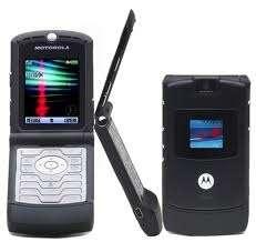 Vendo teléfono motorola v3 black ,impecable