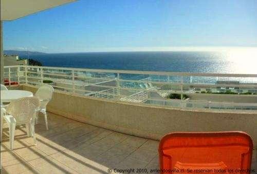 Viña, reñaca, cochoa departamentos 2 a 8 personas frente al mar,hermosas terrazas