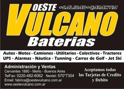 Baterias oeste vulcano