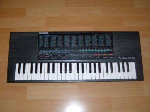 Compro organo casio mt-260 (250$)