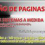 Diseño de Páginas Webs y desarrollo de Sistemas a Medida