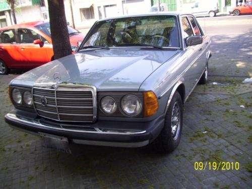 Mercedes benz 300 d turbo 1984 de coleccion, unico