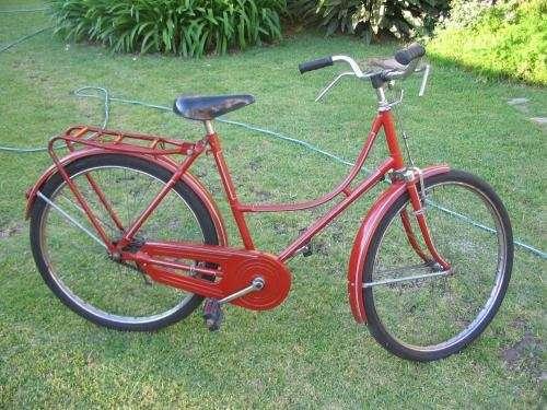 Bicicleta dama tipo inglesa