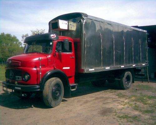Vendo o permuto camion mercedes benz 1114