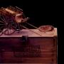 Carretas originales en escala.Replicas de carretas lejendarias y de epoca.