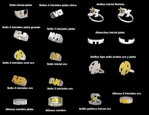 Joyas plata y plata y oro. economicas y accesibles