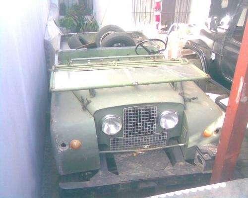 Doble traccion completa jeep land rover serie 1