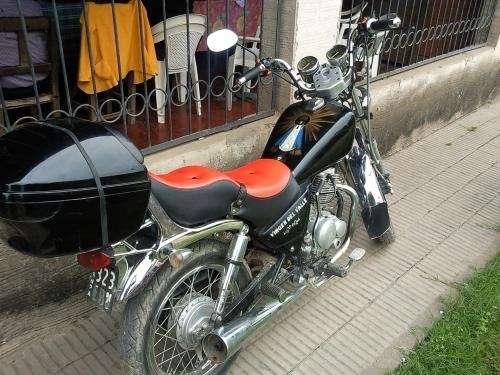 Vndo moto chopera custon 150c.c motomel mod/08 impecacle!!! $5.800