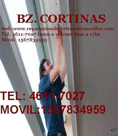 Reparacion de cortinas de enrollar 4611-7027