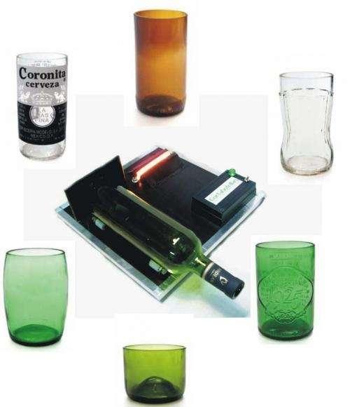 Cortar botellas de vidrio de manera facil y eficaz