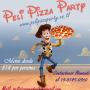 Pizza Party zona sur. Peli Pizza Party, Menus ricos y economico