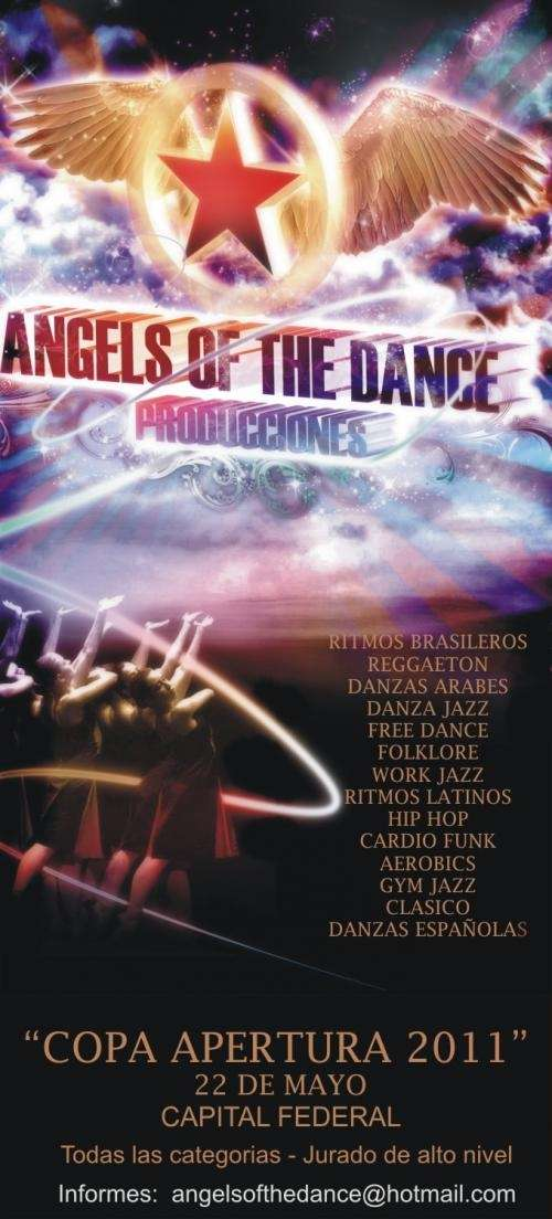 Copa apertura 2011 - angels of the dance