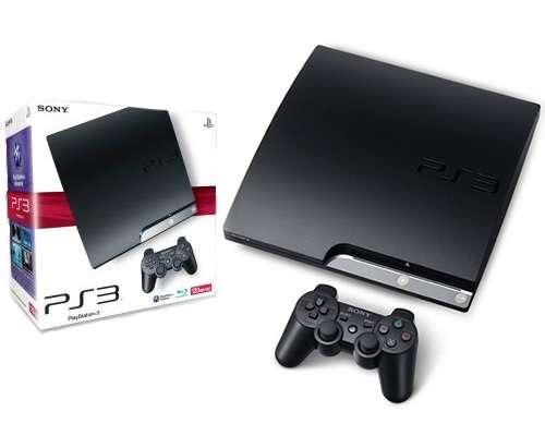 Playstation 3 slim nuevas 120 gb blue ray wi-fi + joystick original