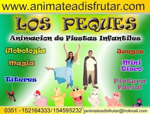"""Animacion de fiestas infantiles """"los peques"""""""