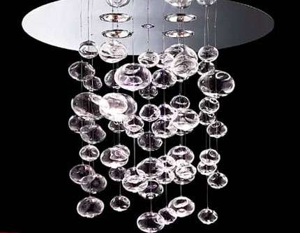 Tulipas,globos ,caireles en vidrio sopaldo
