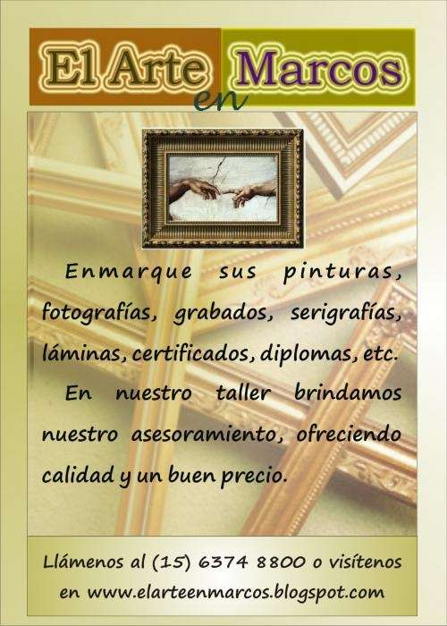 Enmarcados de cuadros en ramos mejia en Buenos Aires - Otros ...
