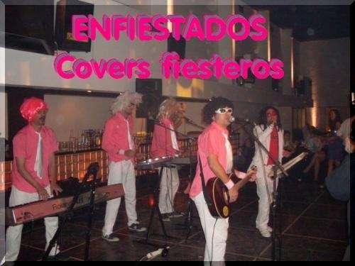 Banda de covers para fiestas shows musicales cantantes tributos karaoke