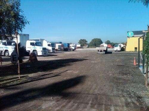 Estacionamiento para 250 camiones