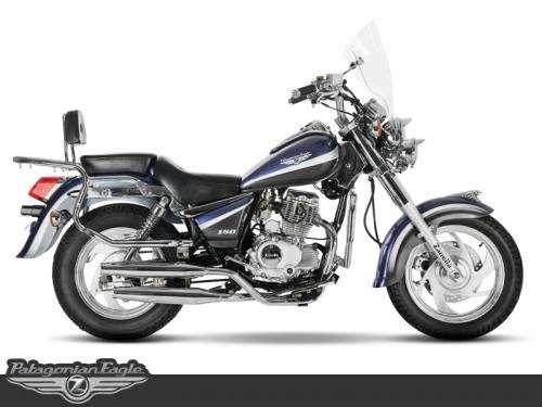 Moto custom chopera zanella patagonian 150 san martin motos