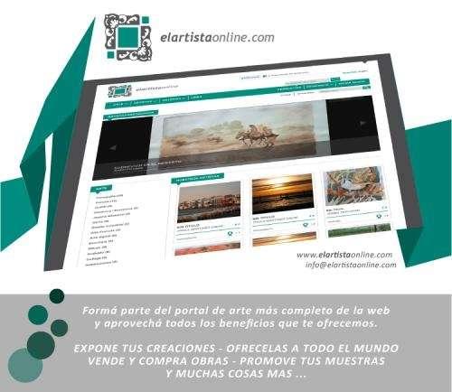 El artista online, artistas y galerías, compra y venta de arte.