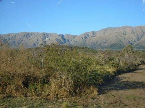 Vendo terreno a 9 km de merlo san luis.paisaje y tranquilidad