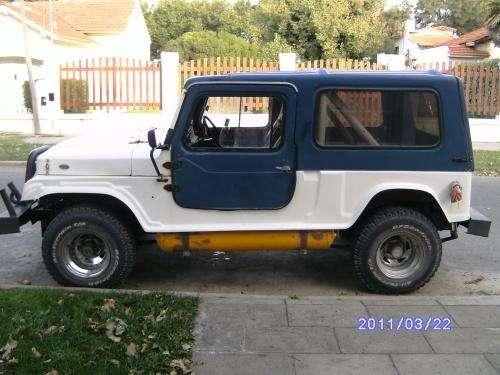 Vendo jeep ika 4x4 gnc motor ford 221 alta y baja