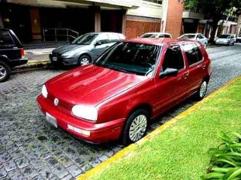 Volkswagen golf glx 2.0 año: 1997 kms: 105000