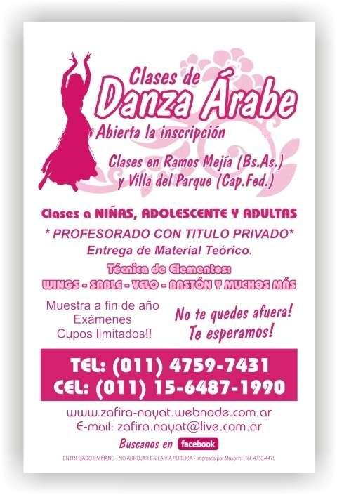 Danza arabe en ramos mejia