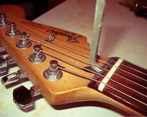 Calibración y reparación de guitarras y bajos en mar del plata - luthier en mar del plata