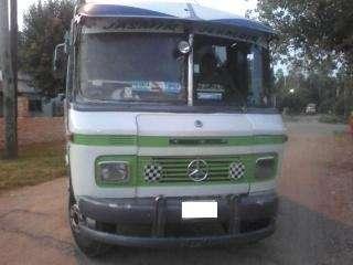 Mercedes benz 608 mini omnibus año 1981