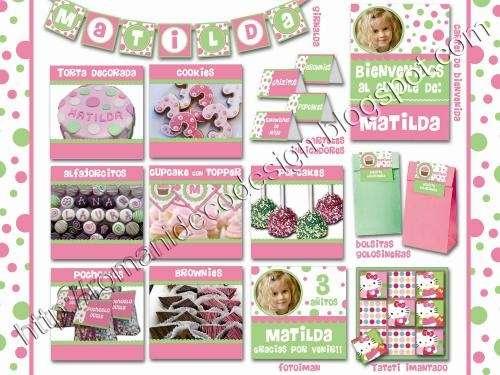 Mesas dulces - candy bar - cupcakes - cookies - golosinas personalizada