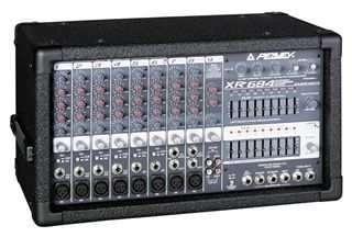 Compro consola peavey xr 684 dañada para repuestos o targeta amplificadora para reparar