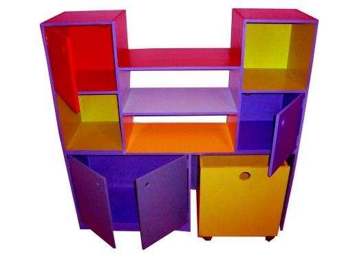 Mueble o biblioteca infantil