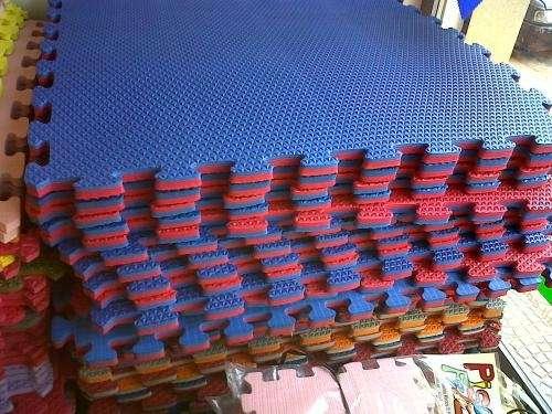 09d1c4692ae Pisos de goma eva encastrables en todos los espesores y colores!! en ...